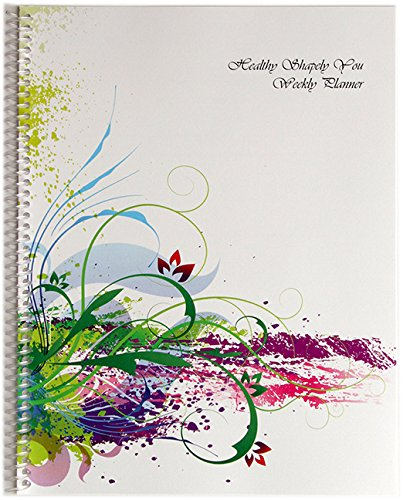 Healthy Shapely You Planner 2017 Jan – Dec Calendar. Daily Weekly ...
